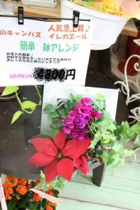 花のキャンバス イレカエール